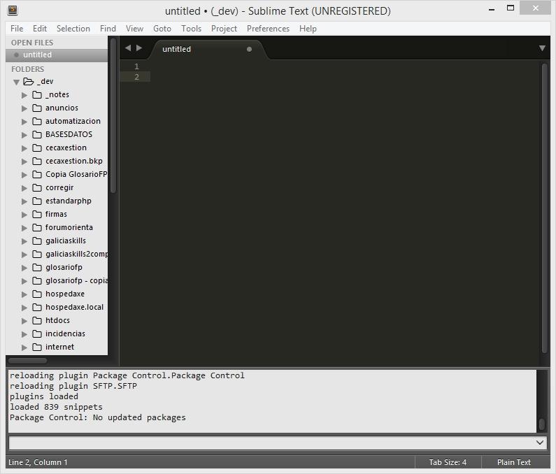 Tutorial sobre editor Sublime Text 3 - Manuais Informática