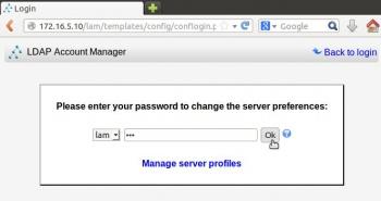 Ferramentas para administración do LDAP: ldapscripts, LDAP